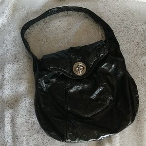 Marc Jacobs Crinkle Patent Shoulder Bag